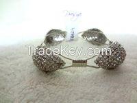 Designer Bracelet Square Shape and Thick Bracelet