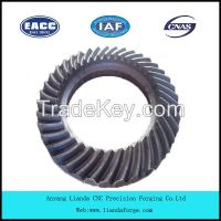 Truck Transmission Crown Wheel Pinion for Nissan
