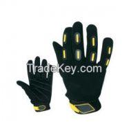 Motorbike Leather Gloves