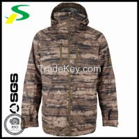Outdoor hunting clothing with camouflage fabric for hunter