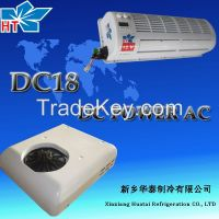 Roof mounted DC powerd air conditioning for truck DC18
