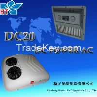 Roof mounted DC powerd air conditioning for truck electrical truck air conditioner DC20