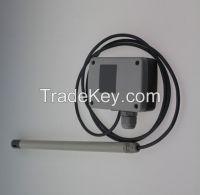 Speed measuring instrument air flow meter