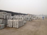SGS approved aluminium alloy ingot ADC 12