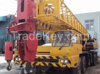 used TADANO truck crane120ton