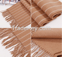 Wool scarf shawl swallow gird hijab scarf with fringe