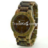 Wood Watch Natrual Sandalwood/Zebra/Maple Watches