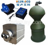 No maintenance no noice energy saving water treatment system