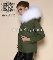 furs overcoat production