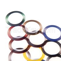 10 Metallic Yarn Line Mix Color Rolls Striping Tape Nail Art Decoratio