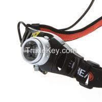 Zoomable Ultra Bright 500 Lumen CREE Q5 LED Headlamp Headlight