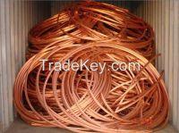 Copper wire scrap 99%  99.9% Q3