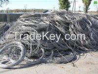 aluminium wire scrap .Aluminum scrap 6063.(A)