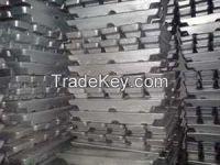 Zinc Ingots High Quality 99.99%(GG)
