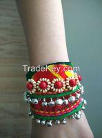 Handmade Folk style fabric Bracelet