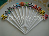 The Chinese traditional opera culture the Facial Fruit Fork