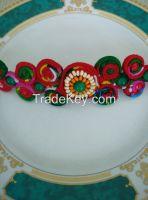 Handmade National style fabric Bracelet