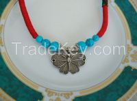 Necklace with Butterfly Pat