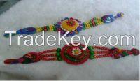 Chinese Traditional Ethnic Fabric Bracelet