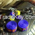 Chinese Traditional Fabrics Earrings