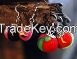 Chinese Traditional Fabric Earring