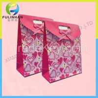 Custom luxury paper bag for cloth and shopping(factory sale price)