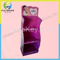 High Quality Custom Floor Paper Cardboard Display Stand