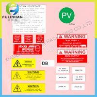 Solar Label Kits For PV System