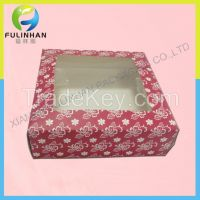 Cardboard Gift Boxes with window