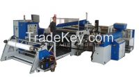 Extrusion hot melt adhesive film coating machine
