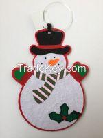 Snowman Santa Xmas Decoration Christmas Door Hanger Hanging