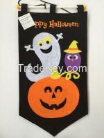 Ghost Pumpkin Decoration Halloween Door Hanger Hanging