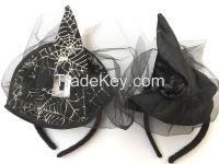 Wholesale Hat Wizard Decoration Halloween Headband