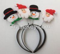 Wholesale Santa Xmas Decoration Christmas Headband