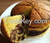 Banana Cake, Chiffon, Swiss Roll, Butter Marble Cake, Muffin, Fruit Cake, Sponge Cake