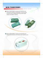 Neon Transformer - Resin Type