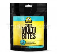 MULTI-BITES SUPPLEMENT FOR DOGS (Chicken Liver Flavour) 45 Chews
