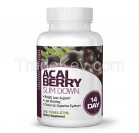 ACAI BERRY SLIM DOWN (14 Day) 56 Tablets