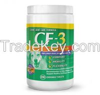 CF-3 (For Dogs Over 30lbs / 14kg) 200 Chewable Tablets