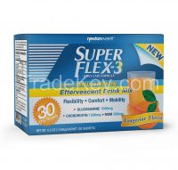 SUPERFLEX-3 EFFERVESCENT (GLUCOSAMINE, CHONDROITIN & MSM) 30 Sachets