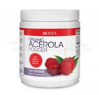 ACEROLA POWDER (Organic) with organic orange flavours 441 Grams
