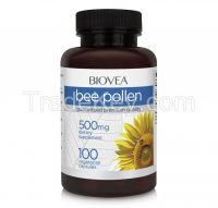 BEE POLLEN 500mg 100 Capsules
