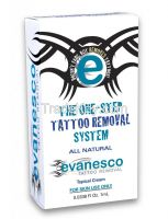 Evanesco Tattoo Removal, 100% Natural. Single Application Fast acting