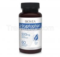 L-TRYPTOPHAN 500mg 60 Capsules