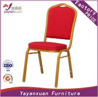Banquet Stackable Chair at low Price in CHINESE Manufacturer (YF-27)