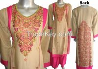 Indian and Pakistani designer design women ladies embroidery party linen dresses stitched and unstitched  new collection 2015