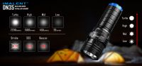 The IMALENT DN35 iA versatile USB rechargeable LED tactical flashlight