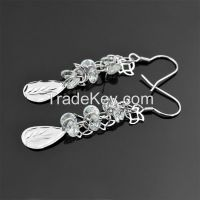 925 sterling silver earrings !beautiful designed earrings!