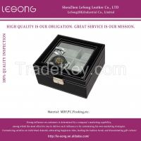 Square PU Leather Marterial Watch Display Box