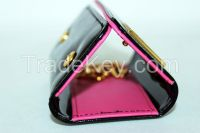 2015 Wholesale PU Leather Keychain Wallet